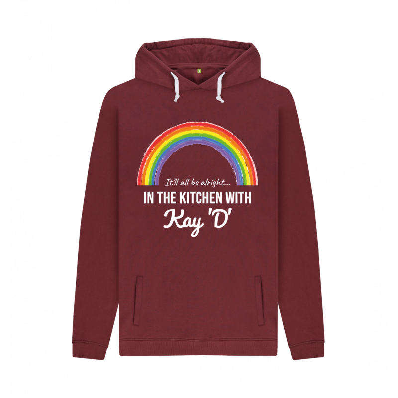 Men's Rainbow It'll All Be Alright Pullover Hoodie