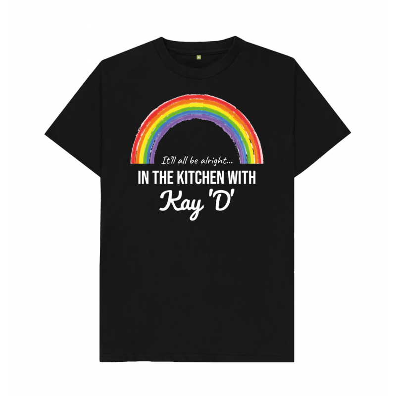 Men's Rainbow It'll All Be Alright Tee