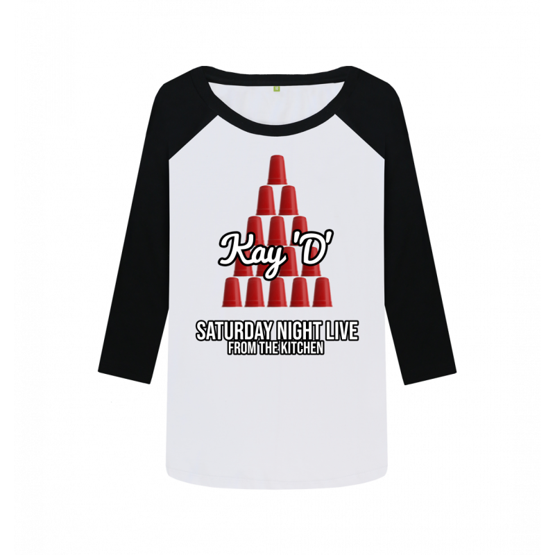 Women's Red Solo Cup Baseball Tee