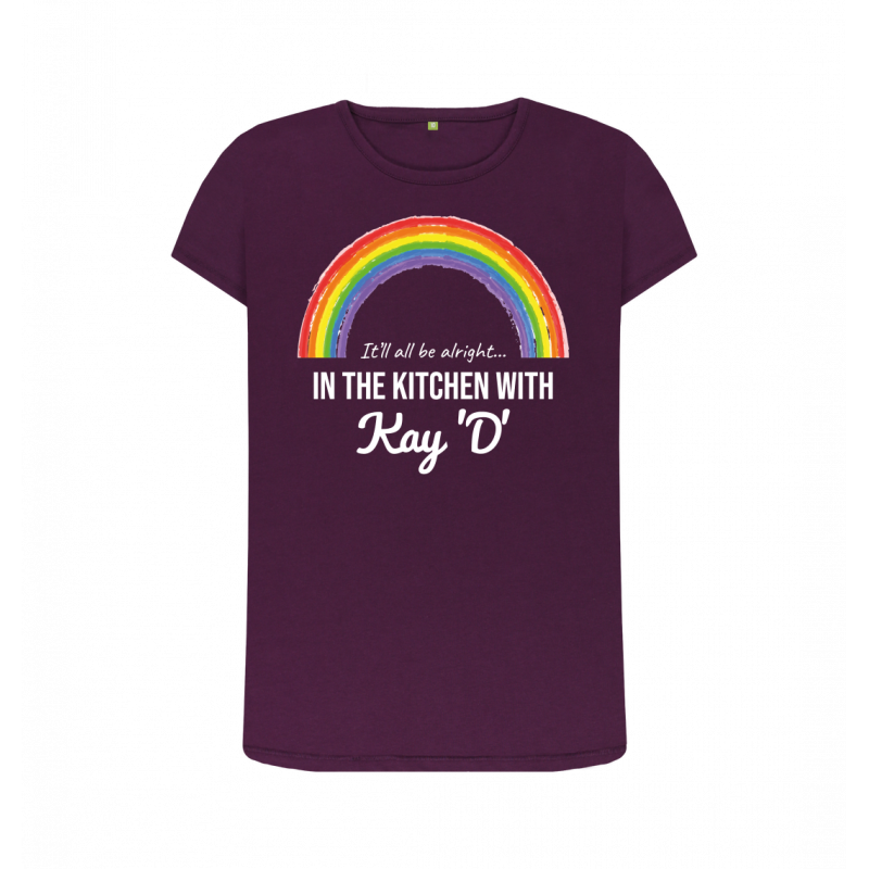Women's Rainbow It'll All Be Alright Crew Neck Tee