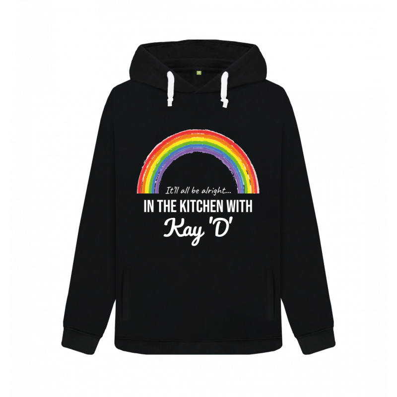 Rainbow It'll All Be Alright Pullover Hoodie