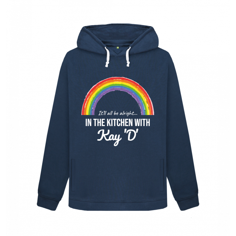 Women's Rainbow It'll All Be Alright Pullover Hoodie