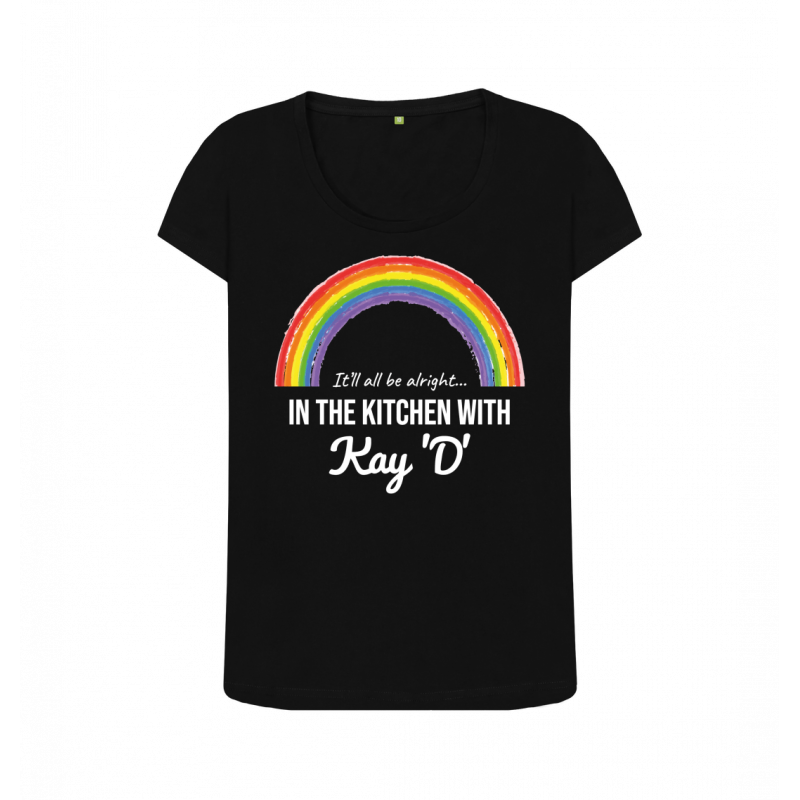 Women's Rainbow It'll All Be Alright Classic Tee